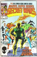 Marvel Super Heroes Secret Wars #11 comic book very fine/near mint 9.0