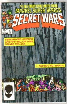 Marvel Super Heroes Secret Wars #4 comic book near mint 9.4