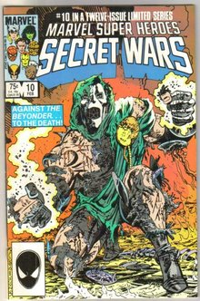 Marvel Super Heroes Secret Wars #10 comic book near mint 9.4