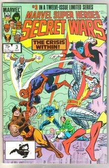 Marvel Super Heroes Secret Wars #3 comic book mint 9.8