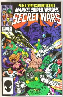 Marvel Super Heroes Secret Wars #6 comic book mint 9.8