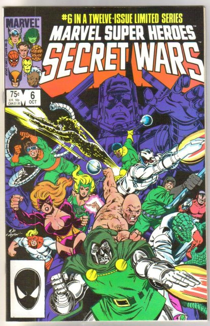 Marvel Super Heroes Secret Wars #6 comic book mint 9.8