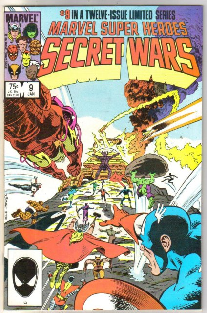 Marvel Super Heroes Secret Wars #9 comic book mint 9.8