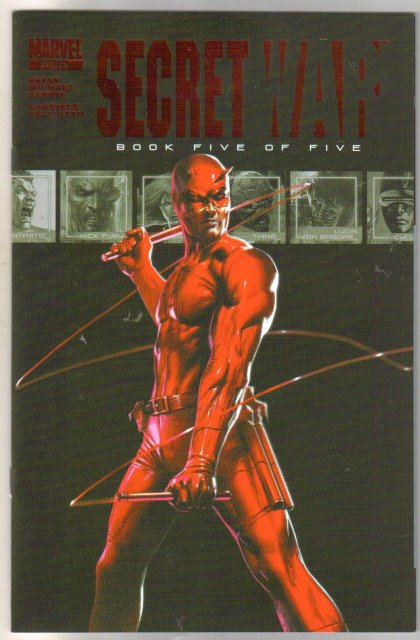 Secret War #5 comic book mint 9.8