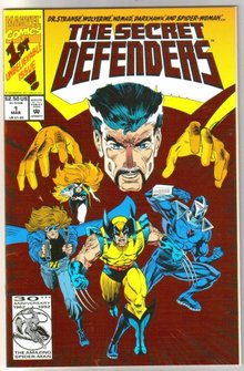 Secret Defenders #1 comic book mint 9.8