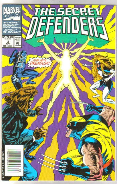 Secret Defenders #2 comic book mint 9.8