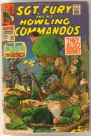Sgt. Fury and His Howling Commandos #46 comic book poor 1.0