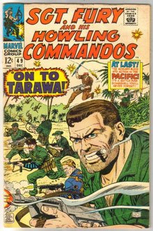 Sgt. Fury and His Howling Commandos #49 comic book very good/fine 5.0