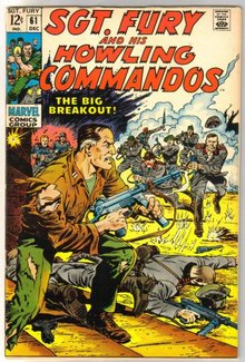 Sgt. Fury and His Howling Commandos #61 comic book very fine/near mint 9.0