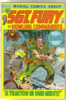 Sgt. Fury and His Howling Commandos #93 comic book very fine/near mint 9.0