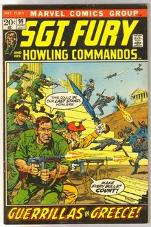 Sgt. Fury and His Howling Commandos #99 comic book very fine/near mint 9.0