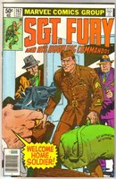 Sgt. Fury and His Howling Commandos #162 comic book very fine/near mint 9.0