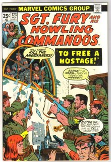 Sgt. Fury and His Howling Commandos #123 comic book near mint 9.4