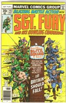 Sgt. Fury and His Howling Commandos #143 comic book near mint 9.4