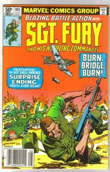 Sgt. Fury and His Howling Commandos #165 comic book mint 9.8