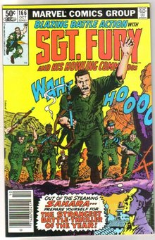 Sgt. Fury and His Howling Commandos #166 comic book mint 9.8