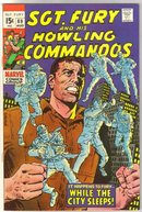 Sgt. Fury and His Howling Commandos #69 comic book very fine 8.0
