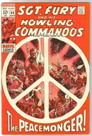 Sgt. Fury and His Howling Commandos #64 comic book very fine 8.0
