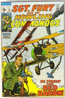Sgt. Fury and His Howling Commandos #76 comic book very fine 8.0