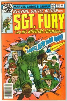 Sgt. Fury and His Howling Commandos #151 comic book very fine 8.0