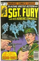 Sgt. Fury and His Howling Commandos #153 comic book very fine 8.0