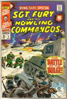Sgt. Fury and His Howling Commandos king-size special #4 comic book very fine 8.0