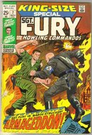Sgt. Fury and His Howling Commandos king-size special #7 comic book very fine 8.0