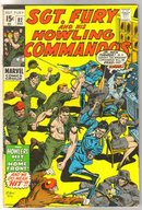 Sgt. Fury and His Howling Commandos #82  comic book very fine minus 7.5