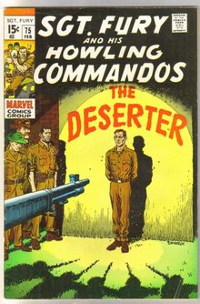 Sgt. Fury and His Howling Commandos #75  comic book fine 6.0
