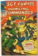 Sgt. Fury and His Howling Commandos #42  comic book fine 6.0