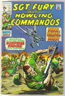 Sgt. Fury and His Howling Commandos #71  comic book fine 6.0