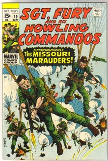 Sgt. Fury and His Howling Commandos #70  comic book fine/very fine 7.0