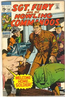 Sgt. Fury and His Howling Commandos #68  comic book fine/very fine 7.0