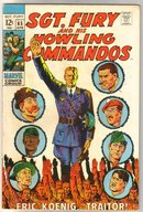 Sgt. Fury and His Howling Commandos #65  comic book fine/very fine 7.0