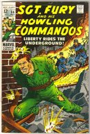 Sgt. Fury and His Howling Commandos #66  comic book very good/fine 5.0