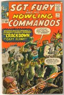 Sgt. Fury and His Howling Commandos #11  comic book very good 4.0