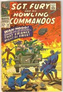 Sgt. Fury and His Howling Commandos #40  comic book very good 4.0