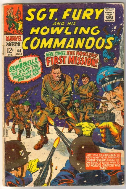 Sgt. Fury and His Howling Commandos #44 comic book good 2.0