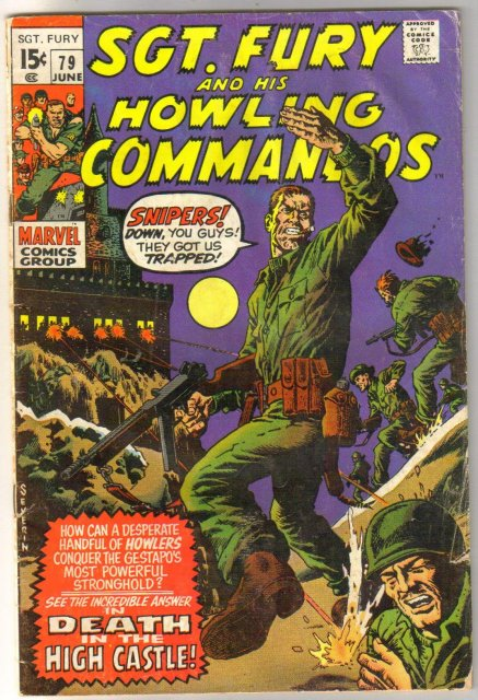 Sgt. Fury and His Howling Commandos #79 comic book good 2.0