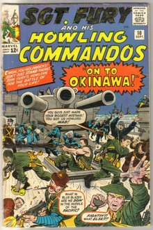 Sgt. Fury and His Howling Commandos #10 comic book good/very good 3.0