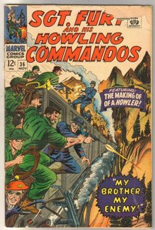 Sgt. Fury and His Howling Commandos #36 comic book good/very good 3.0