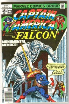 Captain America #222 comic book near mint 9.4