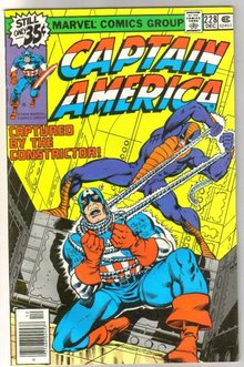 Captain America #228 comic book near mint 9.4