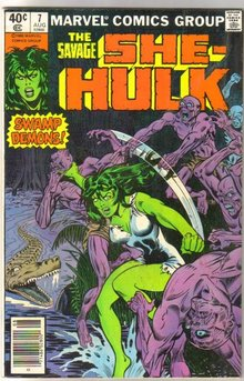 The Savage She-Hulk #7 comic book fine/very fine 7.0