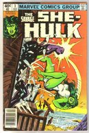 The Savage She-Hulk #3 comic book very fine 8.0
