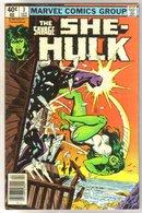 The Savage She-Hulk #3 comic book very fine 8.0