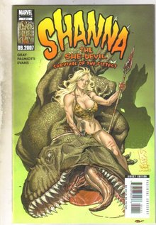 Shanna the She-Devil #1 comic book  near mint 9.4