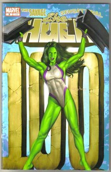 She-Hulk #3 comic book super size mint 9.8
