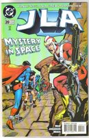 JLA #20 comic book   mint 9.8