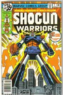Shogun Warriors #1 comic book fine/very fine 7.0